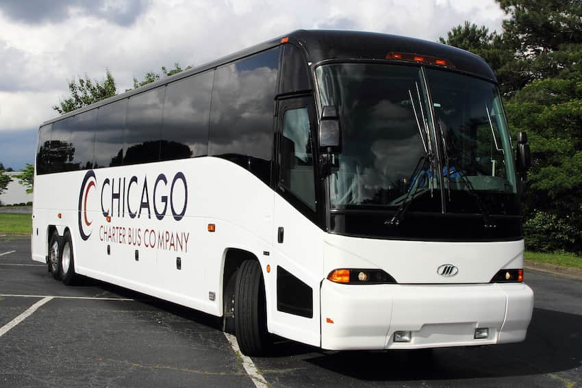Chicago Charter Bus Company bus